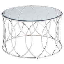 elana silver stainless steel round