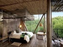Natural Theme Living Room Idea With Forest Rug From Angela AdamsNature Room Design