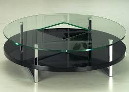black circle coffee table lovable round glass top coffee table glass top round coffee table black
