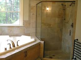 spa tub with shower impressive in bathroom modern with corner shower tile next to tub shower spa tub with shower