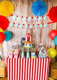 carnival party cake table carnival theme party