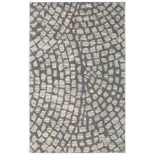 american rug craftsmen berkshire cohassett gray rectangular 5 x 8 ft area rug