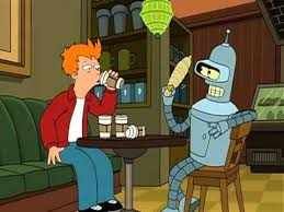 The resolution of png image is 654x1100 and classified to thumbs up ,coffee ring. A Hundred Cups Of Coffee Futurama Coffee Delivery Cartoon
