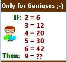 math riddle ii what is your answer