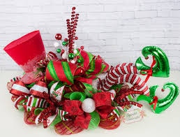 christmas ornaments elf centerpiece christmas legs decor top hat making decorations top hat christmas