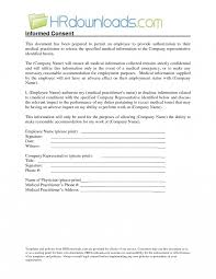 employee medical consent form template. Medical Information Release Form Sarahepps Com Best Images Of Press