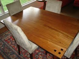 cherry dining table. Custom Made Brazilian Cherry Dining Table C