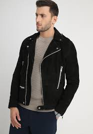 spirit leather jacket black