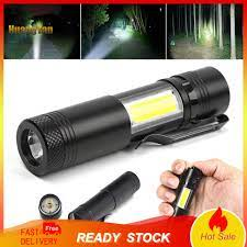 Đèn Pin Mini Bằng Hợp Kim Nhôm 4 Chế Độ Tiện Dụng