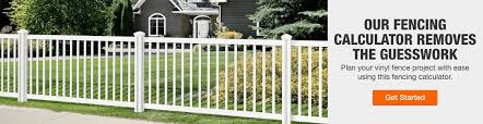 fencing the home depot