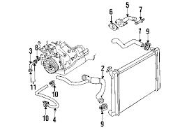 parts com� pontiac grand am radiator hoses oem parts pontiac grand am exhaust system at Grand Am Exhaust Diagram