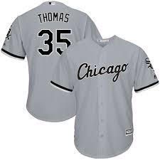 Jersey Thomas Sox White Frank Chicago
