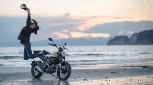 a ducati scrambler 400 is on the way so new riders don t have to