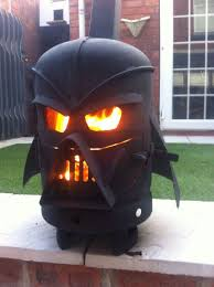 darth vader log burner