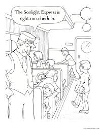 Join us on a train ride through wonderland and enjoy the we have some great polar express coloring pages. Polar Express Coloring Pages Kids In The Train Coloring4free Coloring4free Com