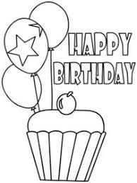 Black And White Birthday Cards Printable Free Printable Birthday Coloring Cards Cards Create And