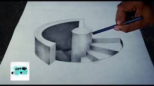 1280x720 trick art drawing how to draw 3d stairs 3d pencil 3d pen art 3d
