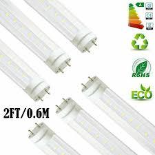 2ft Fluorescent Light Details About 4 100 Pack 9w 2ft Led Fluorescent Tube Light Bulb G13 T8 Lamp Fixture Lot Qu
