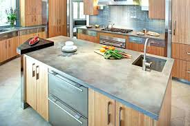 concrete kitchen contemporary with cement plans counters diy countertops outdoor and sink conc