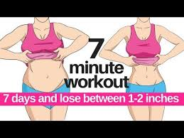 7 day challenge 7 minute workout to