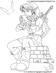 Legend Of Zelda Free Coloring Pages On Art Coloring Pages