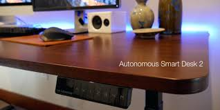 ... Review The Autonomous Smart Desk 2 Is A Perfect Mix Of Function And  Value Video Reception ...