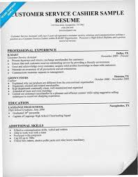Cashier Resume Sample Simple Cashier Resume Objective SHPN Customer Service Cashier Resume