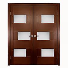 aries interior double door with glass panels