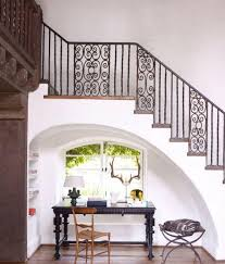 chic under stairs home office image source elle decor