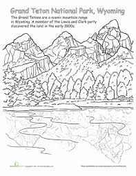 file_227983 20 national park coloring pages education com on drawing lewis structures worksheet