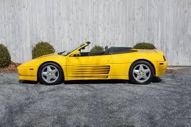 Possui capacidade do tanque de combustivel de 95 litros, o tipo de combustivel é gasolina. 1995 Ferrari 348 Stock 3 For Sale Near Glen Cove Ny Ny Ferrari Dealer