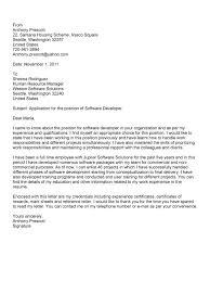 Software Development Manager Cover Letter Sample Eursto Com