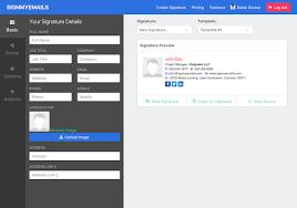 Email Signature Html Html Email Signature Generator Create Email Signature