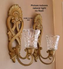 geometric candle holder antique crystal holders with prisms votive vine polished br candle sconces wall