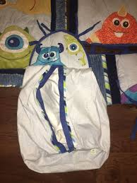 baby monsters inc crib bedding set room decor lot of 11 pieces baby kids in reno nv offerup