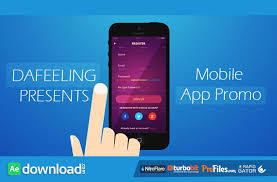 free after effects templates after effects app presentation template free download 58 after