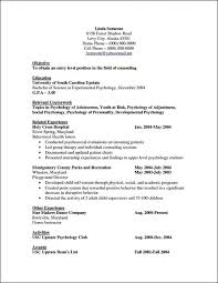 Resumes Psychology Resume And Get Inspiration To Create Good Cv ...