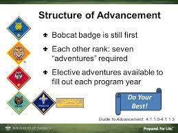 Boy Scouts Of America Rank Advancement Chart Reasonable Bsa Rank Advancement Chart Boy Scout Rank