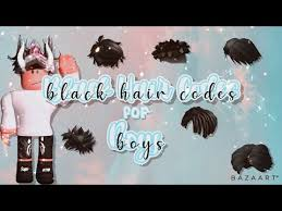 Maybe you would like to learn more about one of these? Roblox Hair Codes For Boys 08 2021