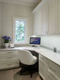 winnetka residence office kitchen traditional home. Winnetka Home Office Just For Her With Cusstom White Cabinetry \u0026 Quartz Surfaces Modern Residence Kitchen Traditional