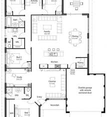 Small Picture House Plan 4 Bedrooms Open Floor Plans Largelakefronthome Plans