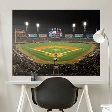 chicago white sox comiskey park stadium mural giant officially licensed mlb removable wall graphic