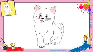 Dessin Chat 3 Comment Dessiner Un Chat Facilement Etape Par