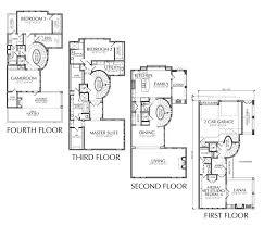 townhouse floor plans. 4 Story Townhouse Floor Plan Plans