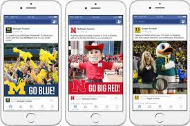 facebook adds college football themed profile frames so fans can show team spirit