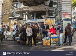 la chapelle de la. France, Paris, Boulevard De La Chapelle, Barbes Market Under The Elevated Metro Barbes-Rochechouart Chapelle