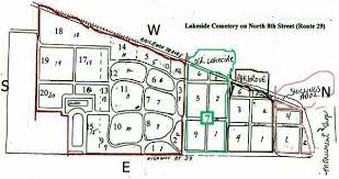 Burials in Lakeside Cemetery in Tazewell county, Illinois
