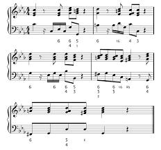 Figured Bass Chart 6c Figured Bass