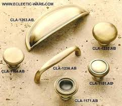 brass cabinet pulls. Antique Brass Cabinet Knobs Best Assortment Of Solid Pulls Eclectic Ware Classic And Shown Vintage