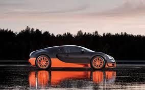 What is the drivetrain, bugatti veyron coupe coupe 2005 8.0 w16 (1001 hp) awd dsg? Bugatti Veyron 16 4 Super Sport Hits 268 Mph